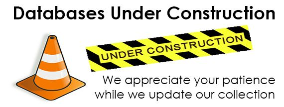 databases under construction slide