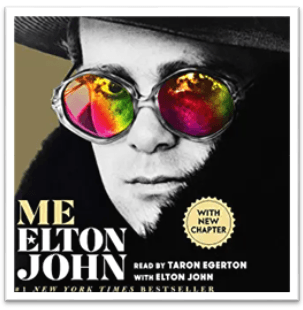 Book cover Elton John Me