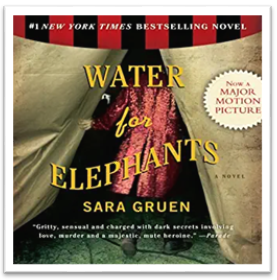 Water for Elephants audiobook cover