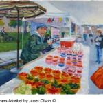 farmers market by Olson