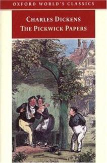 Pickwick Papers book cover